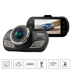ShiZhen DAB201 Ambarella A12 Car DVR Camera 25601440P Video Recorder 27 inch LCD Dash Cam 170 degree lens Gsensor ADAS GPS -- Check out this great product. (This is an affiliate link and I receive a commission for the sales)