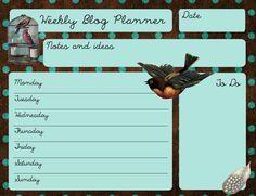 Free Blog Organizer Download!