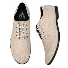 Feathers Canvas Stentorian Oxfords