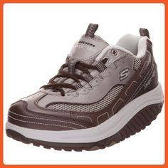 Skechers Women's Shape Ups Stability Fitness Workout Sneaker,Mocha,7 M US - Sneakers for women (*Amazon Partner-Link)