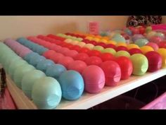 EOS lip balm collection! How does she even OWN all of those?!?!?!