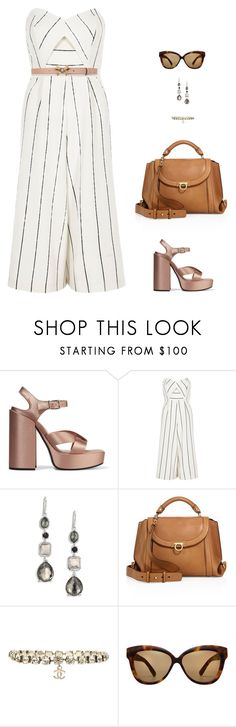 """""""fashion girl"""" by candynena228 ❤ liked on Polyvore featuring Jil Sander, River Island, Ippolita, Salvatore Ferragamo, Chanel, Linda Farrow and Gucci"""