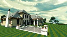 French Country Chateau Minecraft World Save