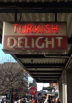 Seattle vintage signs. Turkish Delight.