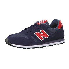 96dd35334 New Balance Herren Sneaker Navy Red