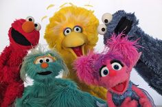 4k Sesame Street Hd Wallpaper 4000x2664