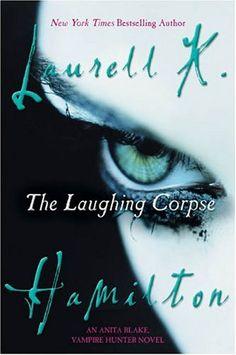 The Laughing Corpse (Anita Blake, Vampire Hunter) by Laurell K. Hamilton, http://www.amazon.com/dp/0425204669/ref=cm_sw_r_pi_dp_VfuZpb0NHM1Q8