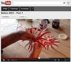 Anna and I have produced our first video tutorial showing how to make Balloon #001. We are aware that quite a large number of our visitors have been struggling to make the balloon only supported by...