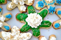 Cookies that are almost too pretty to eat!  Low fat sugar cookies