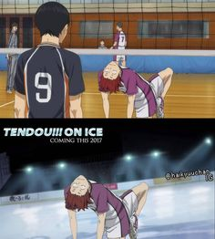 Tendou on ice