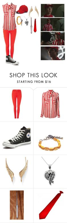 """Samandriel (or Alfie)-supernatural"" by gglloyd ❤ liked on Polyvore featuring BlendShe, Stella Jean, Converse, Venessa Arizaga, Palm Beach Jewelry and Jewel Exclusive"