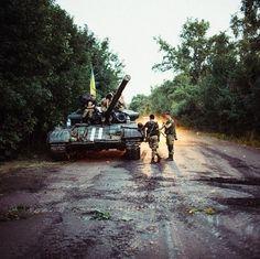 Ukrainian Army in ATO