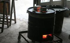 Construction très économique d'un petit four raku - Formation céramique, stages poterie, raku