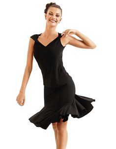 So Danca Spandex Ballroom Skirt RDE-1535 From £29.95  SoDanca flattering Ballroom/Latin skirt full flare soft petal-shaped cut dance skirt in Jersey Spandex. Ideal elegant dancewear for practice or special occasions.