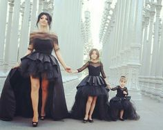 Something like this with my strong little ladies