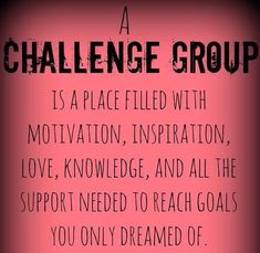 Why should you JOIN A CHALLENGE GROUP NOW? Are you aware that 80% of people FAIL at whatever weight loss program or lifestyle change they choose within just three weeks?