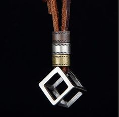 Cheap rope chain, Buy Quality men necklace pendant directly from China men necklace Suppliers: NIUYITID Genuine Leather Men Necklaces Pendants Punk Vintage Adjustable Brown Rope Chain Male Jewelry Mens Jewellery Mens Leather Necklace, Mens Chain Necklace, Leather Men, Pendant Necklace, Black Leather, Leather Cord, Leather Necklaces For Men, Leather Collar, Leather Bracelets