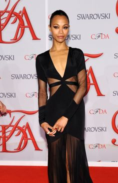 Zoe Saldana in Prabal Gurung | Tom & Lorenzo