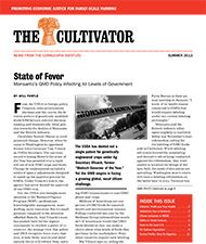 Cornucopia Newsletter Archive, The Cultivator - Summer 2013 http://www.cornucopia.org/category/newsletter-archive/
