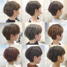 HAIR(ヘアー)はスタイリスト・モデルが発信するヘアスタイルを中心に、トレンド情報が集まるサイトです。20万枚以上のヘアスナップから髪型・ヘアアレンジをチェックしたり、ファッション・メイク・ネイル・恋愛の最新まとめが見つかります。 Short Curls, Medium Short Hair, Girl Short Hair, Short Hair Cuts, Tomboy Hairstyles, Short Hairstyles For Women, Pretty Hairstyles, Korean Short Hair, Shot Hair Styles