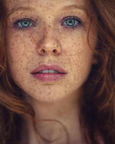 Red haired lesbian freckled seems, will