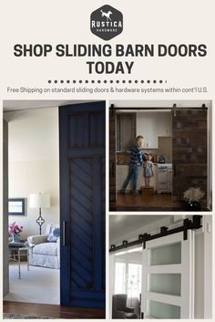 Barn Door Hardware, Barn Doors, Home Improvement Sliding Door Hardware, Sliding Doors, Door Hinges, D House, House Doors, Interior Barn Doors, Basement Remodeling, Home Renovation, Decoration