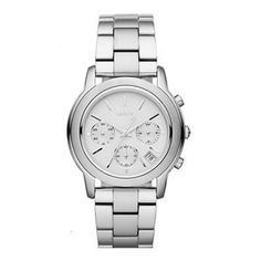 DKNY Polished Silver Rounded Chrono Silver Dial Women's watch #NY8327 DKNY. $106.00. New DKNY NY8327 Women's Silver Tone Stainless Steel Chronograph Watch. Save 39%!