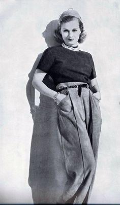 Joan Bennett, beautiful, great actress.