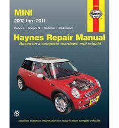 30.51nz book depository : mini 2002 thru 2011 Haynes Repair Manual