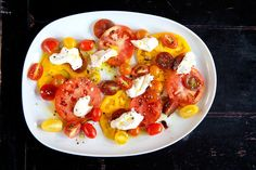 A dish as simple as caprese demands the best: Use firm, in-season tomatoes, the freshest burrata, pristine olive oil and top-quality balsamic vinegar.