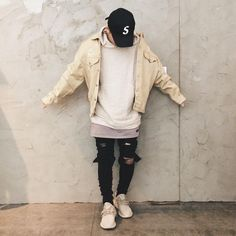 Mens Fashion – Designer Fashion Tips Dope Fashion, Urban Fashion, Mens Fashion, Queer Fashion, Fashion Styles, Runway Fashion, Style Fashion, Fashion Ideas, Fashion Tips
