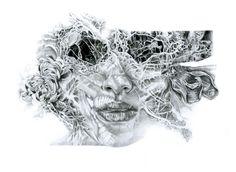 Joanna Wędrychowska | pencil Zombie virus