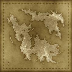 A Free Old Fantasy Map by arsheesh.deviantart.com on @deviantART
