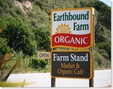 Farmstand at Earthbound Farm, Carmel, CA