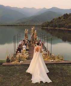 Talk about an entrance ✨💫Also, how are we all feeling about the trend? Intimate weddings can be so lovely 💘 (by Small Intimate Wedding, Intimate Weddings, Simple Weddings, Intimate Wedding Ceremony, Wedding Ceremonies, Beach Weddings, Destination Weddings, Wedding Trends, Wedding Venues