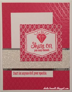 Sheila's Stamping Stuff: Diamonds Are Forever