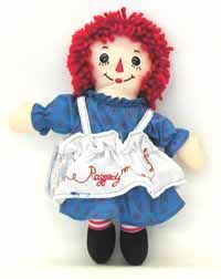 .I still have my Raggedy Ann doll.  I even dressed up as Raggedy Ann for Halloween in one of those hideous plastic costumes and masks. LOL