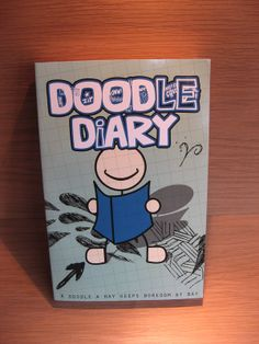 """Doodle Diary - """"A Doddle a Day Keeps Boredom at Bay"""" - says it all! Available at Best of Friends Gift Shop in the lobby of Winnipeg's Millennium Library. 204-947-0110 info@friendswpl.ca Gifts For Friends, Best Friends, Doodle Diary, Day, Shop, Beat Friends, Bestfriends, Bffs"""