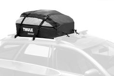 Thule 867 Tahoe Rooftop Cargo Bag by Thule. $188.95. Amazon.com                  The Thule Tahoe Rooftop Cargo Bag is the most spacious rooftop bag that Thule              makes. Perfect for most vehicles, the Tahoe is designed to work with              virtually any roof rack, attaching to the crossbars, the side rails              or both via heavy-duty cargo buckles and double stitched webbing.              It's expandable from 15 to 17 cubic feet via reversible zipp...