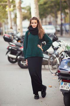 love a long skirt