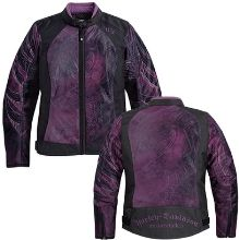 Harley-Davidson Cosmic Mesh Womens' Functional Outerwear Jacket.  I LOVE!