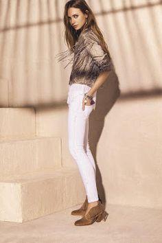 Tendenciera: Lo que viene, lo que viene... Ethnic Fashion, Urban Fashion, Womens Fashion, Style Fashion, Baggy Trousers, Pants, Summer Chic, Hippie Chic, Denim Jeans
