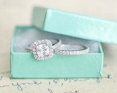 wedding rings set on Etsy, a global handmade and vintage marketplace.