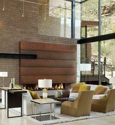 raumideen für modernes wohnzimmer-sitzgarnitur im Stil mid ...