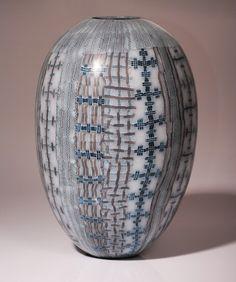 """TEXTILE 13 #15"" Giles Bettison Murrini Glass"