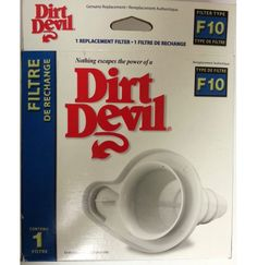 DIRT DEVIL GENUINE F10 Vacuum Filter Swift Stick Part # 3SQ0950000 >>#Dirt Devil  #VacuumFilter