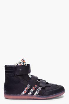 Adidas Originals by Opening Ceremony - Black Floral Samba Sneakers  175  Samba, Opening Ceremony, c45102006ba