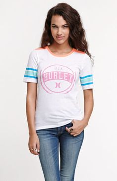 Hurley Honor Roll End Zone Tee at PacSun.com