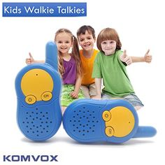 Kids Walkie Talkies For Little Boys Spy Kit Yard Game Toys Fun Electronics Radio Detective Toys 3 Channel Easy to Use Marine Two Way Radio for Outdoor Camping Perfection Game Adventure Holiday * Details can be found by clicking on the image. Cool Gifts For Kids, Gifts For Girls, Flag Game, Kids Electronics, Ideal Toys, Adventure Holiday, Yard Games, Two Way Radio, Electronic Gifts