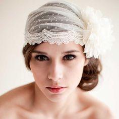 36 Stunning Wedding Veils That Will Leave You Speechless  - Cosmopolitan.com Vintage Jewels: https://www.etsy.com/shop/ButterflyEffectInc